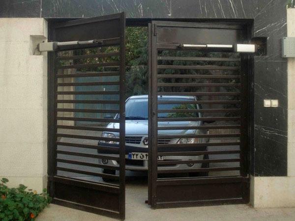 نصب جک درب اتوماتیک در کلارآباد